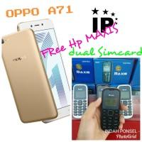 HP OPPO A71 GOLD GARANSI RESMI 1 TAHUN