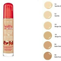 Bourjois Healthy Mix Serum Gel Foundation No 53 #beige Claire #light b