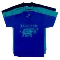 Kaos souvenir wisata negara bangkok thailand pattaya phuket