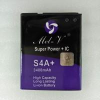 Baterai Batre Double Power + IC Advan S4A+ Battery Original