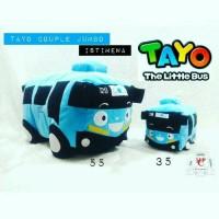 Boneka The little tayo couple jumbo istimewa