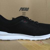 Sepatu sneakers PIERO rush full mesh black