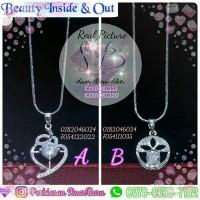 Harga kalung liontin silver 925 acc aksesoris perhiasan wanita | Pembandingharga.com