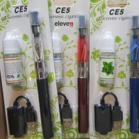 Paket Siap Ngebul Rokok Elektrik EGO CE5 1100MAH Kit + Liquid
