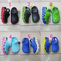Sandal Anak Crocs Duet Sport Junior