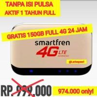 DISKON Modem WIFI M5 Smartfren 4G GRATIS KUOTA 150 GB AKTIF 1 TAHUN