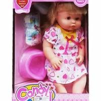mainan boneka CANDY GIRL (BONEKA PIPIS CEWE) - 7899
