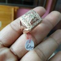 cincin cowok berlian medan asli