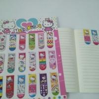 Bookmark / Pembatas Buku magnet Hello Kitty