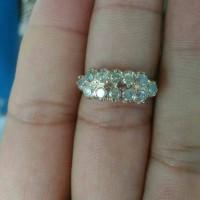 cincin wanita berlian medan asli