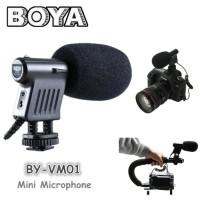 Mic / Microphone BOYA BY-VM01 for DSLR, Camcorder, Handycam