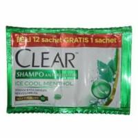 Shampoo Clear Sachet Renteng Shampo Clear Sachet Renceng Sampo Clear