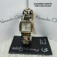 Jam Tangan Alexandre Christie AC 2558 LH BRGSL Women Sport White Dial