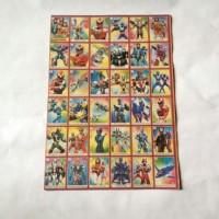 Umbul Gambar Mainan Jadul Tokoh Kartun Super Hero