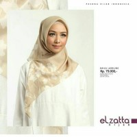 Hijab Kerudung Segi Empat Kaila Ladeline Scarf Elzatta Original