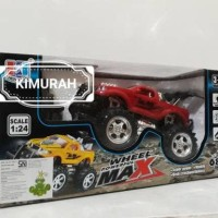 rc monster truck / remot kontrol mobil big foot / jeep off road