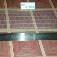 Skin keyboard notebook asus UX 31 ukuran 11/11,6 inch transparan skin
