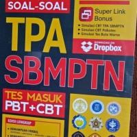 Buku SOAL-SOAL TPA SBMPTN - TRIK CEPAT PENYELESAIAN Pembahasan