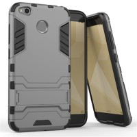 Hard Soft Case Casing HP Xiaomi Redmi 4X Armor Stand Silikon Hardcase