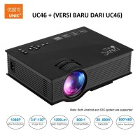 Jual UNIC UC46 Projector / Proyektor WIFI 1200LM Murah