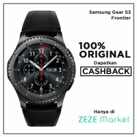 Samsung Gear S3 Frontier with Black Sport
