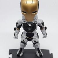 Chibi Iron Man 3 Action Figure Starboost Mark 39 Light