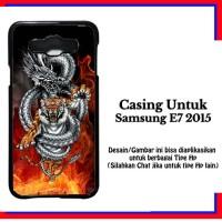 Casing Samsung E7 2015 tiger z3 api Custom Hardcase Cover