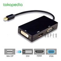 Konverter Mini Displayport ke HDMI/DVI/VGA (Thunderbolt Compatible)
