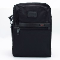 Tas Tumi Alpha 2 Organizer Travel Tote Hitam SO22116D2