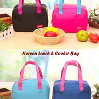 New Korean Lunch & Cooler Bag (Tas dgn lapisan penahan panas/dingin)