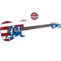 BILLY MUSIK - Fender Wayne Kramer Signature Flag Stratocaster Strat