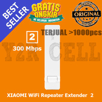 Jual XIAOMI Mi WiFi Amplifier 2 Repeater Extender USB Wireless 300Mbps Murah