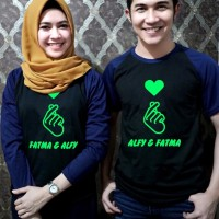 Baju Kaos Couple Bisa cetak nama Keluarga / Family
