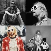 Jual kacamata sunglass frame kurt cobain grunge nirvana Murah