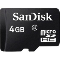 SanDisk MicroSD 4 GB Class 4 By: MS Store