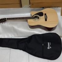 Termurah..!!!Gitar ibanez akustik jumbo plus softcase