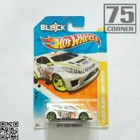 HW Hot Wheels Ford Fiesta Ken Block Livery White KB43 Drift Gymkhana