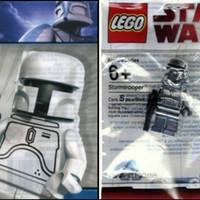 Paket LEGO Minifig - Star Wars White Boba Fett & Chrome Stormtropper