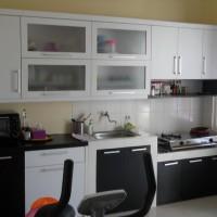 Kitchen Set Multiplek HPL Plus Meja Granit