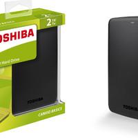 Terbaru Toshiba Canvio Basic 2TB HDD HD Hardisk Harddisk External 2 5