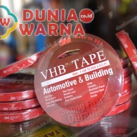 Harga promo 3m vhb double tape foam otomotif 12 mm x 4 5 m termurah | antitipu.com