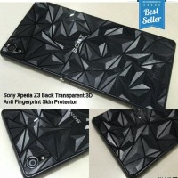 Original! Sony Xperia Z3 Big Docomo Skin Garskin Diamond Clear Screen