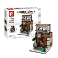 Sembo Block Coffee shop 189 pcs