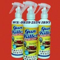 GUN KILLER obat Pembasmi kutu kasur dan Sofa,tumbila,Tungau,petinggi.