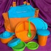 Tupperware Baby Meal Set - Perangkat Persiapan Makanan MPASI Bayi
