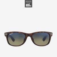 ORIGINAL Ray Ban New Wayfarer Polarized Sunglasses Havana