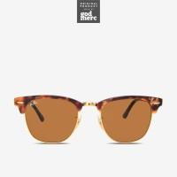 ORIGINAL Ray Ban Clubmaster Fleck Sunglasses Brown Havana