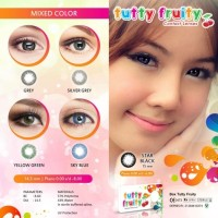 SOFTLENS TUTTY FRUITY YELLOW GREEN
