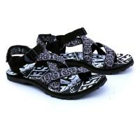 Garsel Shoes Sandal Gunung Pria Hitam Komb GSG 3006