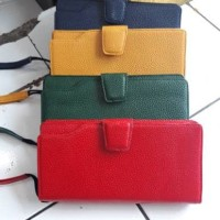 Dompet lipat kulit asli garut